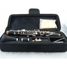 Кларнет студенческий класс кларнет Eb ключ кларнет сопрано черная трубка