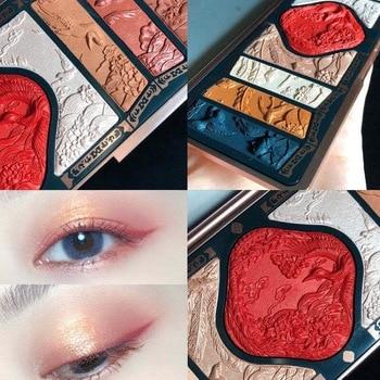 Eyeshadow Pallete 9 Colors Shimmer Matte Glitter Eyeshadow Palette Pigmented EyeShadow Professional Makeup paleta de sombra