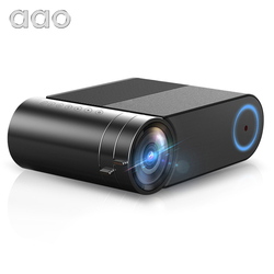 AAO YG420 Mini Projector Native 720P Portable Video WIFI Beamer LED Proyector for 1080P Multi-Screen Smartphone YG421 Projector