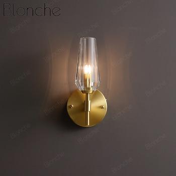Modern Wall Lamp Copper Led Wall Lights Bedroom Bedside Corridor Home Decor G9 Wall Sconce Luxurious Loft Fixtures Luminaire