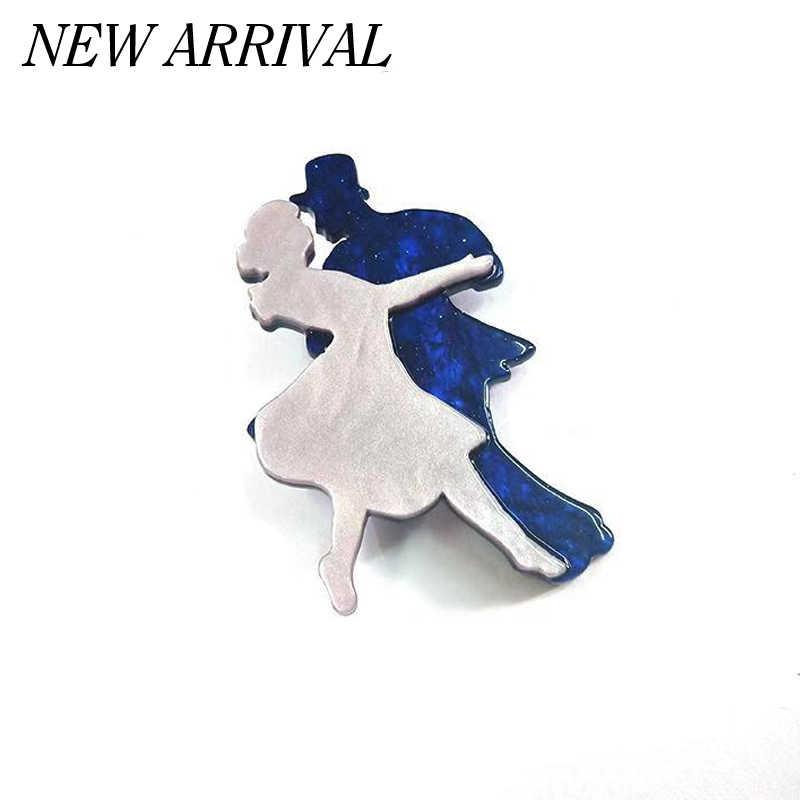 Fant & Jack Edisi Terbatas Fire Fox Pin Bros Pria Wanita Acrylic Payudara Sesuai Topi Gaun Aksesori Vintage Bros Koleksi