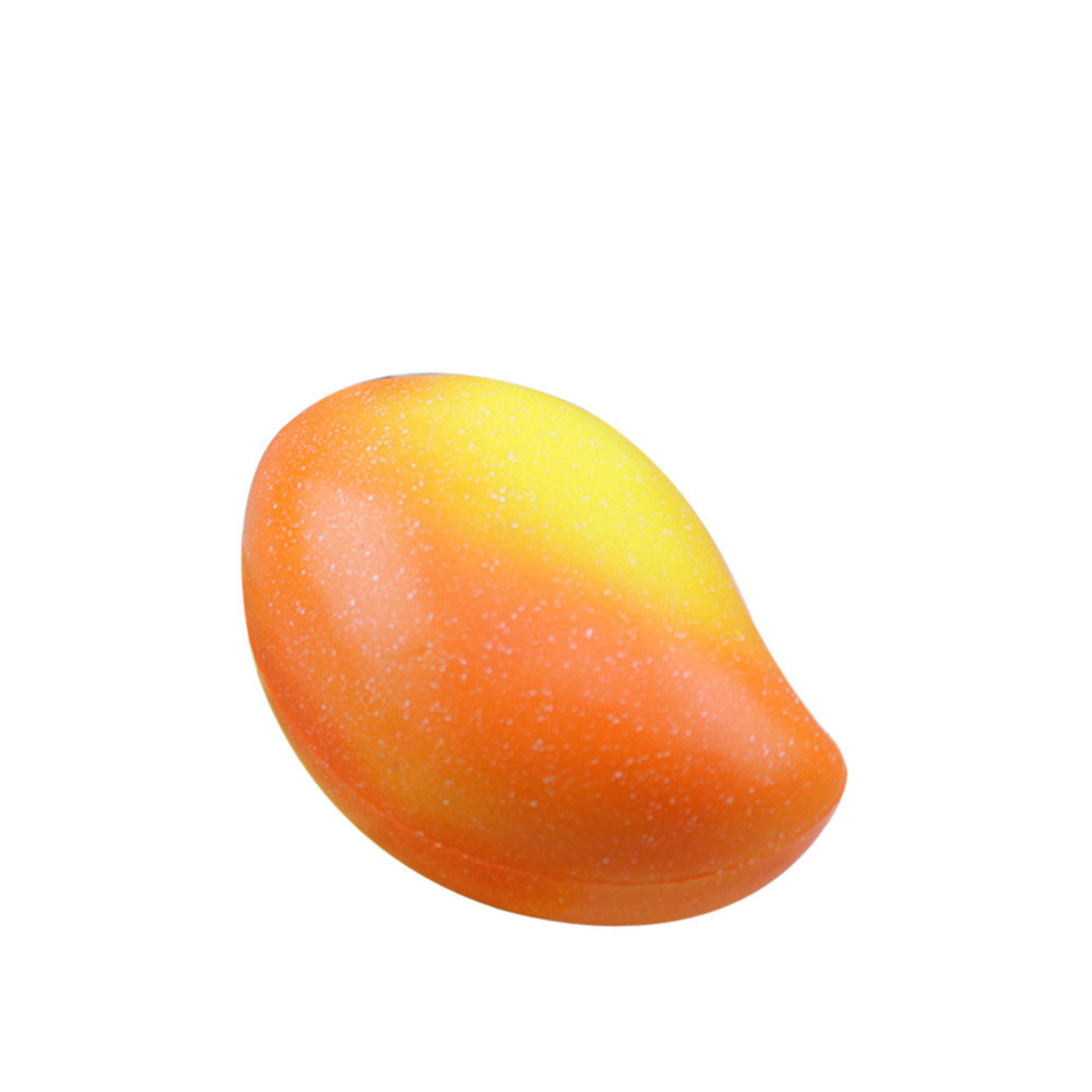 Squeeze Jumbo Stress Reliever Soft Mango Slow Rising Toys Gifts Kitchen And Dining Table Display Toy Simulation Fruit Toy #C