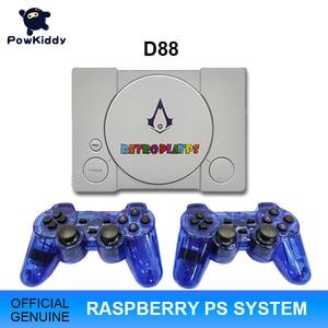 Image 1 - Powkiddy D88 hdmiラズベリーパイ30シミュレータレトロゲーム3D新ゲーム7000ゲームでエージェントbulitダブルゲームパッド