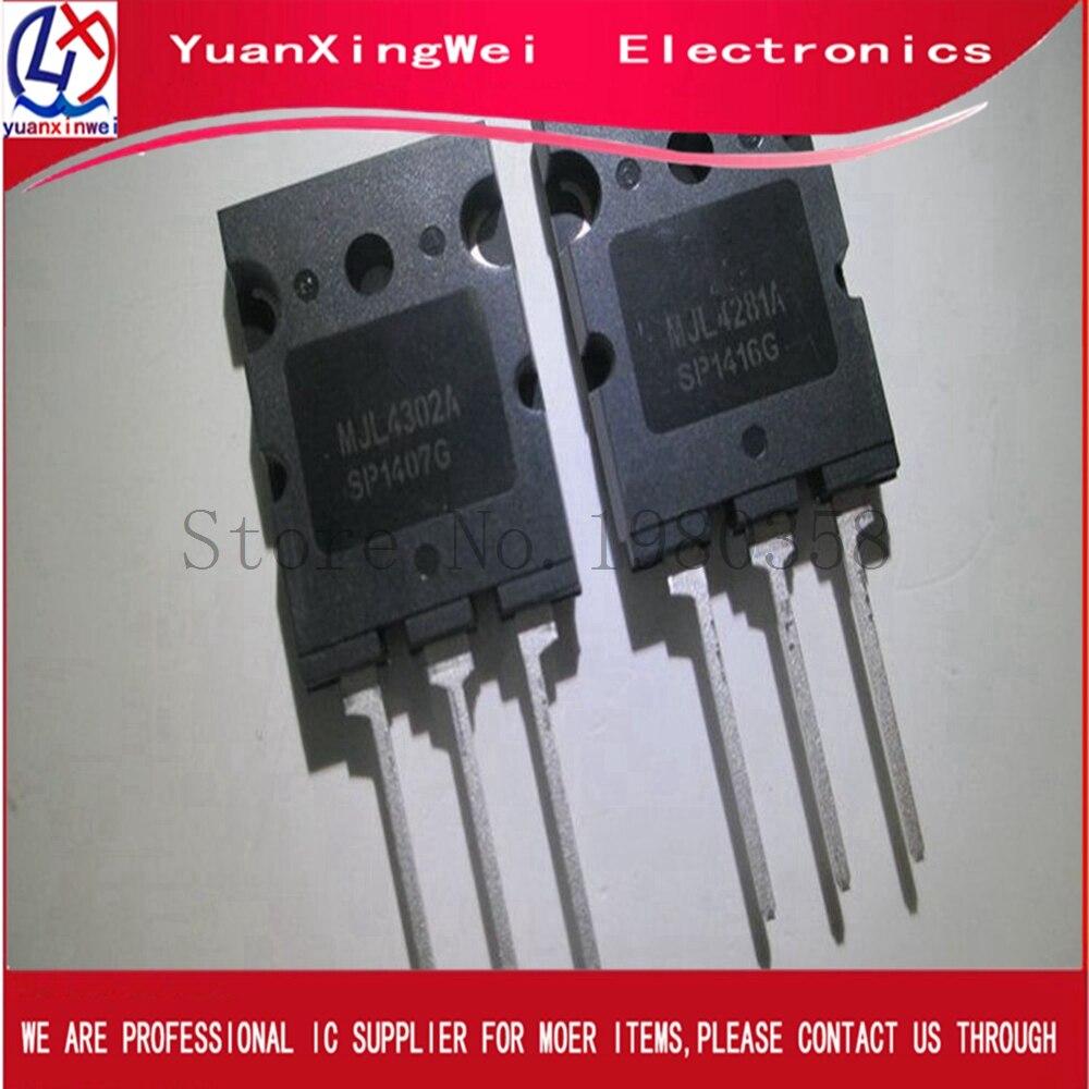 MJL4302A MJL4302  1pcs+1pcs MJL4281A MJL4281 TO-3PL