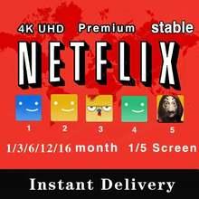 Best253 netflixes premium acc 5 telas 4k uhd garantia global
