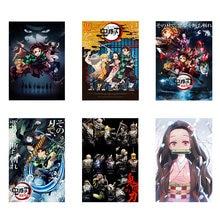 Demon Slayer: Kimetsu No Yaiba Tanjirou Nezuko beauty Anime Manga Wall Art Canvas Poster For Living Room Home Decoration