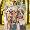 При индивидуальном заказе Одеяло уникальный подарок таможня флис покрывало для фото Одеяло поместить свою фотографию на броска 30x40 дюймов