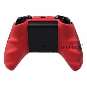 Image 5 - IVYUEEN 실리콘 보호 스킨 케이스 XBox 1 X S 컨트롤러 수호자 물 전송 인쇄 위장 커버 그립 캡