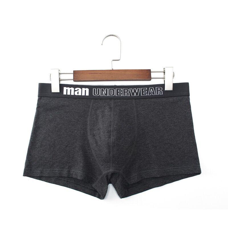 Boxer Men Underwear Cotton Man Breathable Shorts Boxer Pure Color Underpants Boxerer Hombre Ropa Interior Hombre