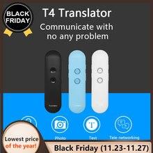 2019 NOVA Atualização muama enence inteligente tradutor de voz portátil Instantâneo Real time tradutor da língua Tradutor de Voz Bluetooth 3 em 1 voz Text Photo Language translator Para aprender a viajar em negócios