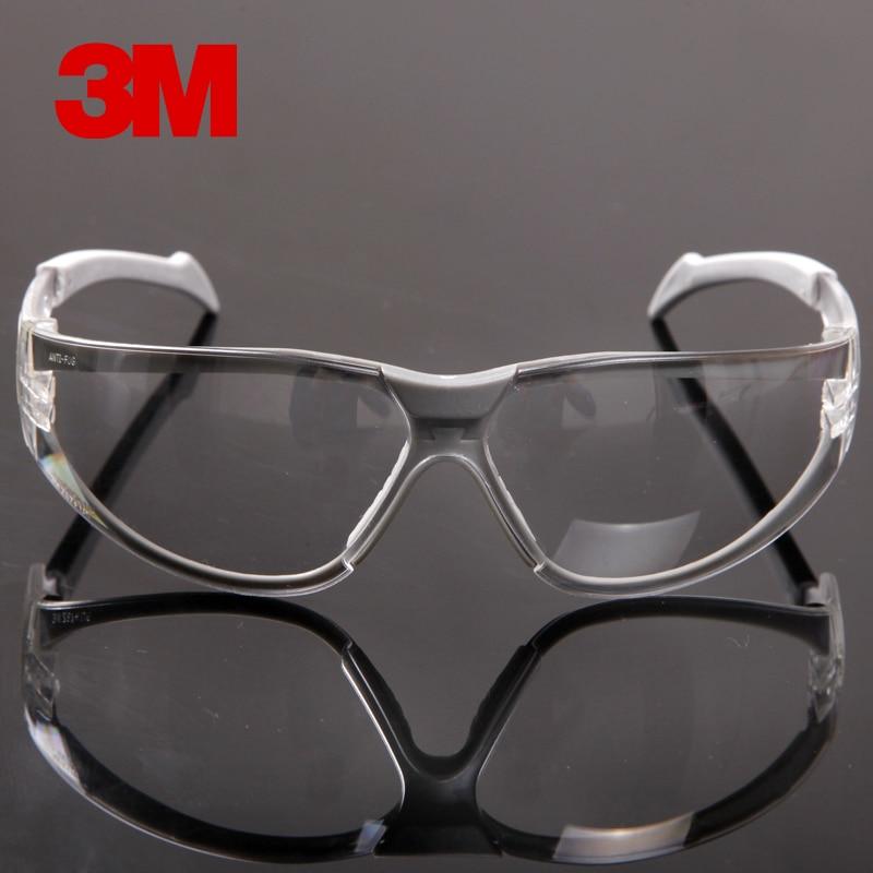 Защитные очки 3M 11394, противотуманные противопесковые ветрозащитные противопылевые прозрачные очки, защитные рабочие очки