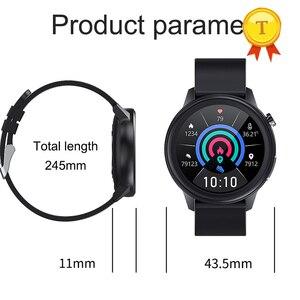 Image 2 - 2021ขายดีที่สุด HD หน้าจอ ECG Ppg สมาร์ทนาฬิกาผู้ชายผู้หญิงกันน้ำอุปกรณ์การตรวจสอบอุณหภูมิบลูทูธ SmartWatch