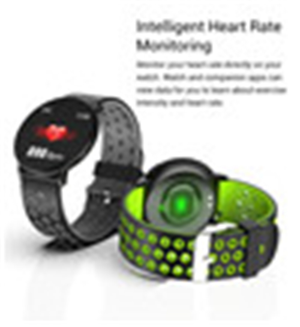 H17493e86263e43a0a6b02a5e80528954c Fitness Bracelet 1.3'' Screen Smart Bracelet Blood Pressure Heart Rate Monitor Fitness Tracker Waterproof Ip67 Smart Band Watch