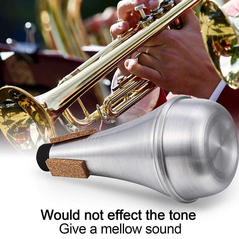 peças acessórios prática trompete mudo