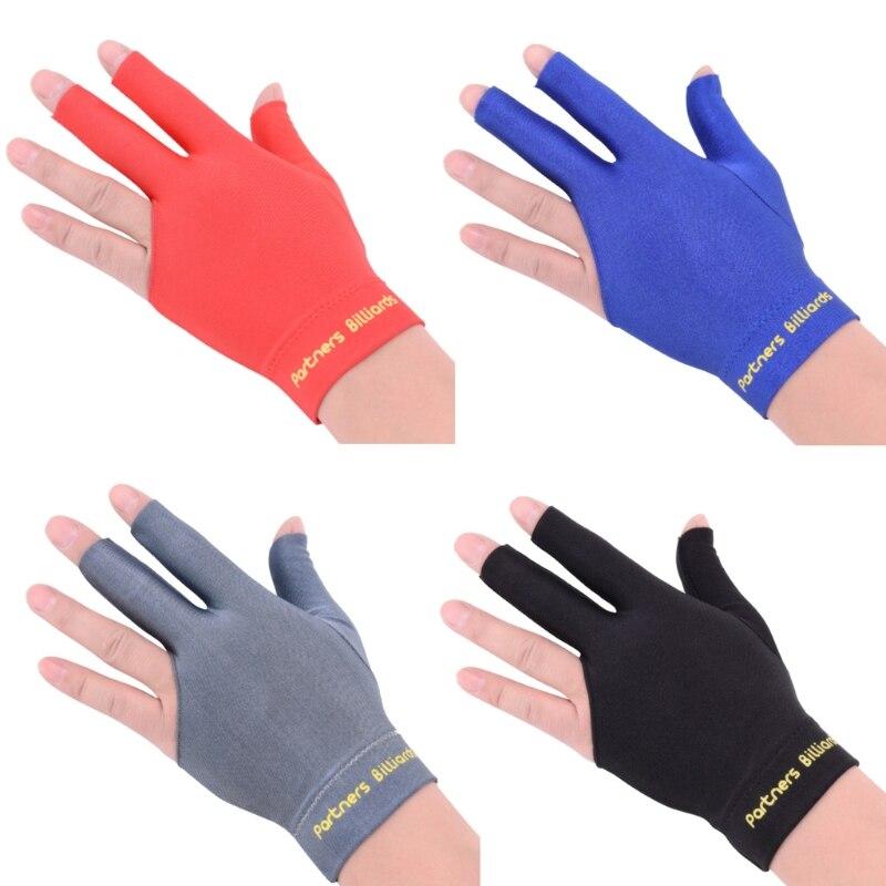Billiards Three Fingers Glove Snooker Glove Special High Grade Billiard Gloves