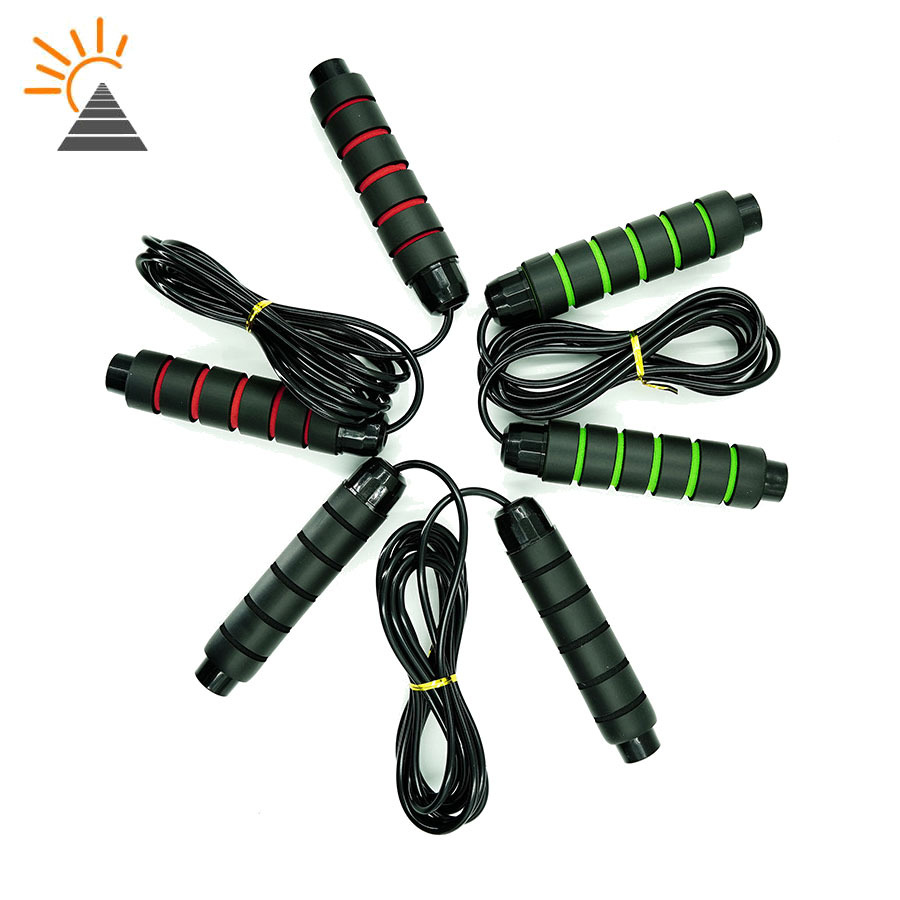 Not Knot Bearing Jump Rope Men And Women Losing Weight Students Children Sports Training Jump Rope Foam-Dismantling Steel Wire J