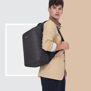 Image 5 - Tigernu anti hırsızlık laptop sırt çantası usb şarj 15.6 sırt çantaları erkekler slim su geçirmez okul çantası çantası kadın erkek mochila seyahat