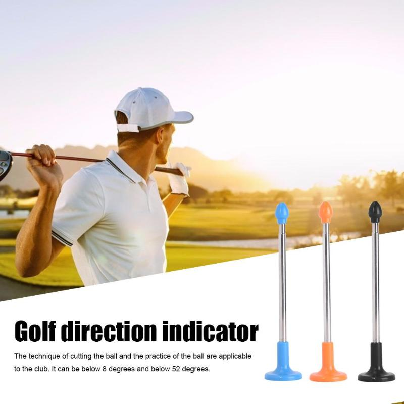Hot Sale Golf Direction Indicator StickClassic Delicate Texture Auxiliary Trainer Direction Indicator Putter Golf Equipment