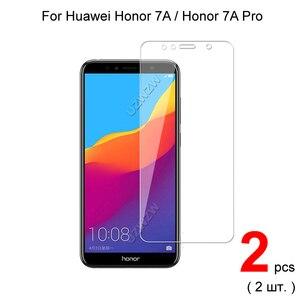 Image 1 - Para huawei honor 7a/honor 7a pro premium vidro temperado protetor de tela de vidro para huawei honor 7a pro vidro protetor de proteção
