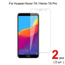 Protector de cristal para Huawei Honor 7A / Honor 7A Pro, Protector de pantalla de vidrio templado Premium para Huawei Honor 7A Pro