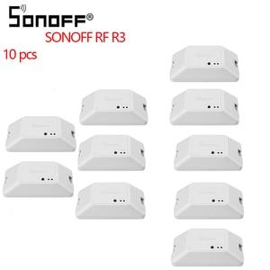 Image 1 - 4/10 Pcs Sonoff RF R3 433Mhz RF Smart Wifiสวิทช์Wifiล่าช้าสวิตช์สวิทช์หน้าแรกสมาร์ทควบคุมผ่านEWeLink APPทำงานร่วมกับAlexa