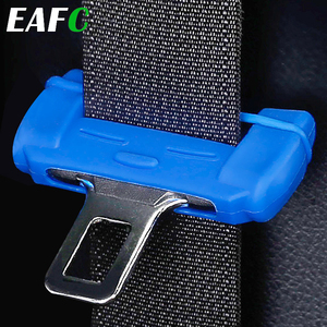 Universal Car Safety Belt Buckle Protector Silicon Anti-Scratch Seat Belt Buckle Clip Interior Button Case Anti-Scratch Cover