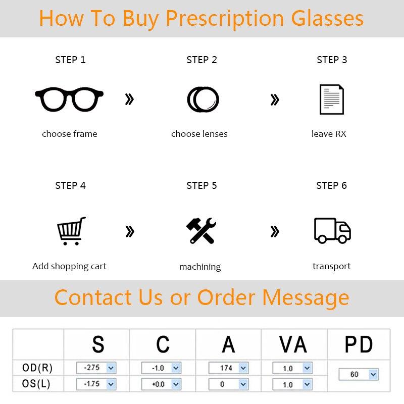 Купить мужские очки в металлической полуоправе оптические квадратные