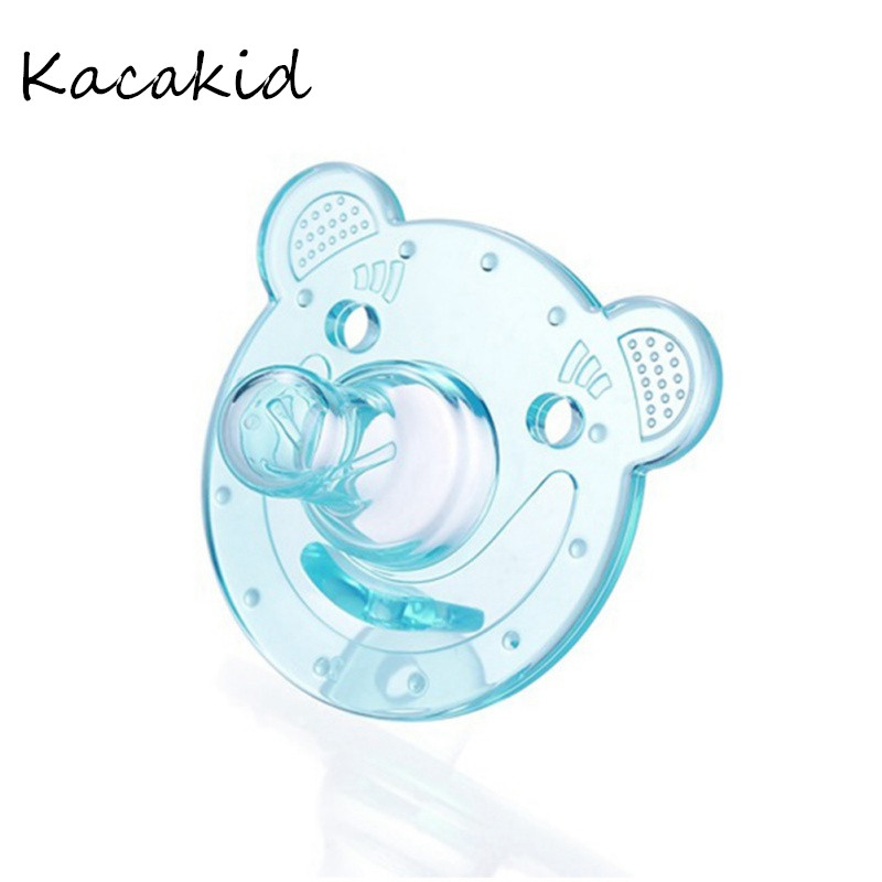 Baby Pacifier Newborn Baby Pacifier Dummy Nipples Food-grade Silicone Nipples Teether Soothers Pacifier Baby Care Sleep Soother