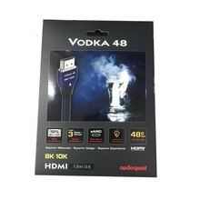 HIFI AudioQuest Vodka 48 8K 10K 48Gbps Cáp HDMI Hộp
