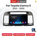 Junsun V1 Pro 4G CarPlay Android 10 4G + 64G Auto Radio Multimedia-Player Für Toyota Camry 5 VX 30 2001 - 2006 GPS keine 2din dvd