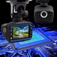 Car DVR Dash Cam Lens 2 in1 Vehicle Camera Mobile Presence Driving Recorder Anti Radar Detectors Highway Traffic Recorder Laser