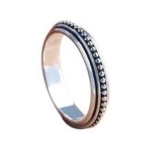 Женское кольцо с бусинами классическое в стиле ретро модные