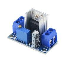 Convertisseur de LM317 1 pièce   Convertisseur Buck Down Circuit imprimé Module linéaire régulateur de tension réglable alimentation électrique