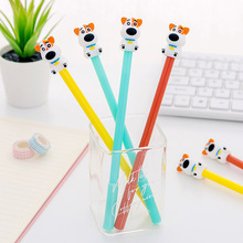 Creative cartoon puppy neutral pen cute student examination with signature stationery