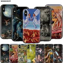 Webbedepp Hieronymus Bosch Case untuk Apple Iphone 11 Pro XS Max XR X 8 7 6 6S PLUS 5 5S SE(China)