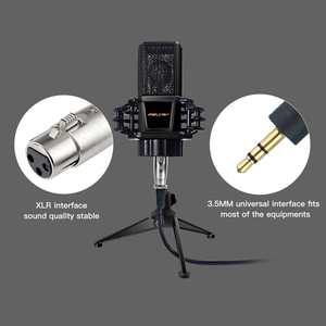 Image 3 - FELYBY BM1000 Professional คอนเดนเซอร์ไมโครโฟนสำหรับคอมพิวเตอร์/แล็ปท็อป/PC Audio Studio บันทึกคาราโอเกะ BM 800 อัพเกรด Mikrofon