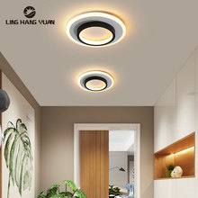 LED Aisle lights Ceiling Light for Bedroom Living Room Dining room Kitchen Metal White frame Corridor Stairway Ceiling Lamps 15w