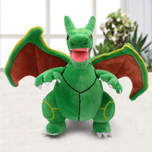 Japan Anime Rayquaza Charizard Center Mega Evolution Plush Toys PP Cotton Stuffed Animal Children Doll Christmas Gifts