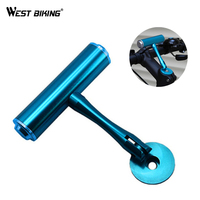 WEST BIKING T Frame Bicycle Handlebar Extensions Frame Bicycle Handlebar Lamp Cycling Computer Clip Holder Light Extension Frame