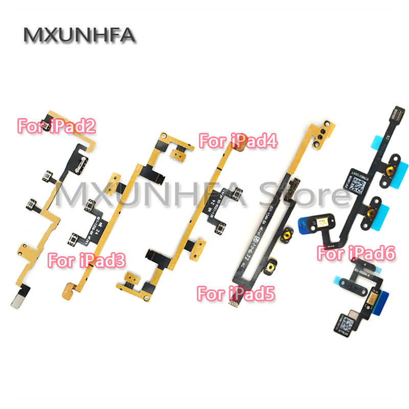 Power On//Off Key Volume Button Connector Flex Cable Ribbon for iPad mini /& Air 1