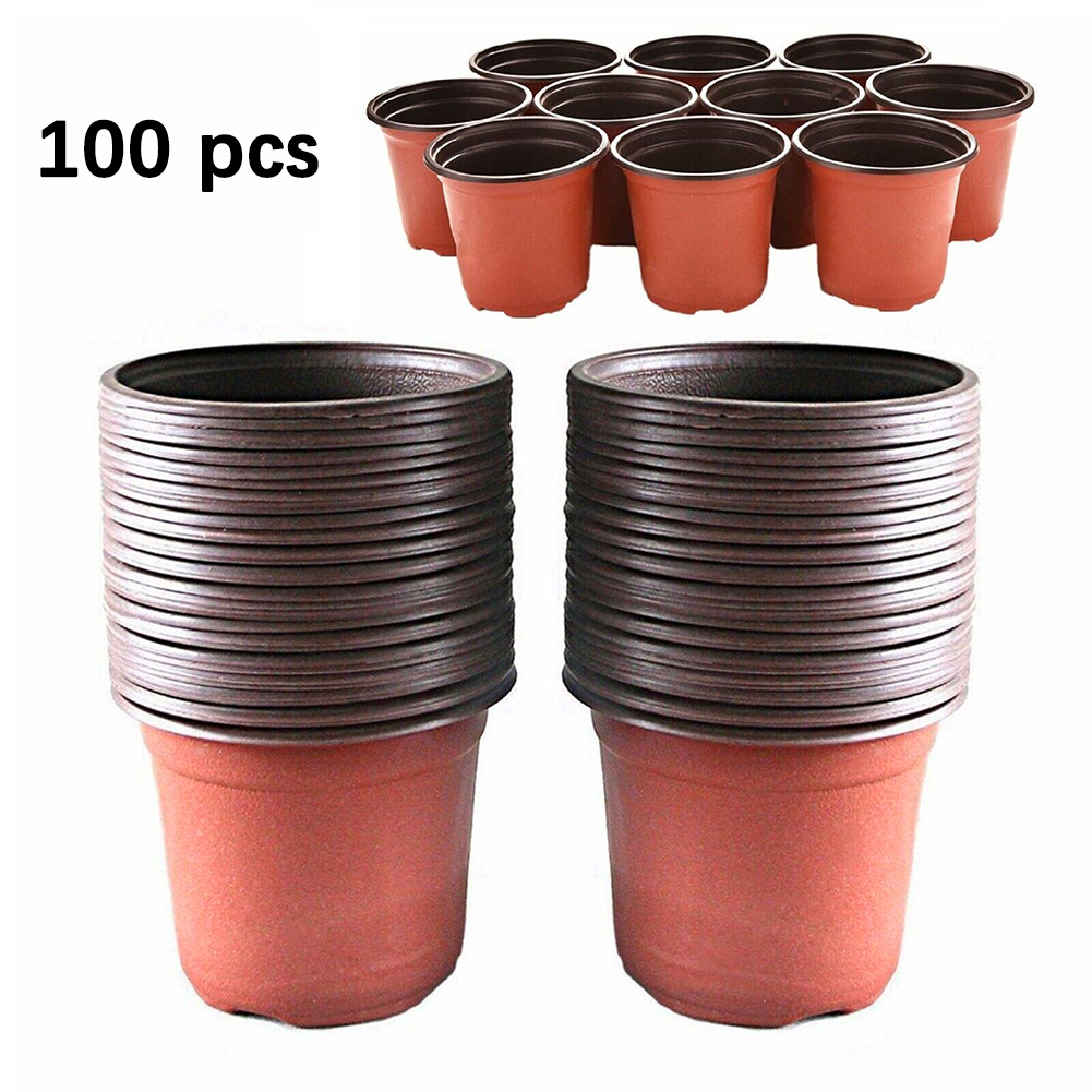 Container Storage-Pot Nursery-Seeds Garden-Decoration Plant Soft-Flowers Plastic Starting title=