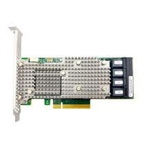 LSI Broadcom MegaRAID 9460 16I 트라이 모드 SAS/SATA/NVMe 05 50011 00 12gbit 16 포트, 4 개의 x4 내부 SFF8643, PCI E3.1 X8 4G 캐시