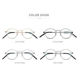 Image 5 - 초경량 베타 순수티타늄 프레임 처방 안경 근시 광학 무나사 안경테 남녀공용 아이웨어 맞춤 안경 7510