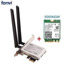 Convertisseur sans fil pour ordinateur de bureau, pcie 1X, avec Bluetooth 1730, carte réseau Wifi 9260 ngww, pour Windows 10, système Intel 9260