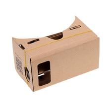 Für Handy Google Ultra Klar Home 3D Betrachtung Tragbare Gerät Theater DIY Karton Film VR Gläser Set