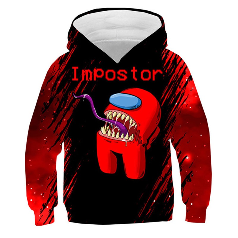 3D Among Us kids hoodies for boys 4-14Y Children's Sweatshirt tops for Girls tops Kids Costume Baby Boy Clothes Hoodies