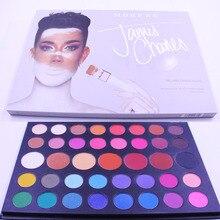 Morphe 39 Colors Eye Shadow Peach 39 Eyeshadow Palette James Charles Glitter