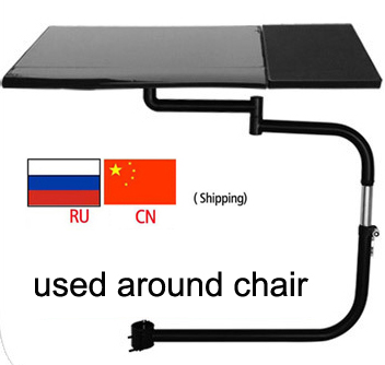 DL OK 030 Multifunctoinal Full Motion Square Mouse Support Laptop Holder Keyboard Mount Mouse Pad Compfortable Office And Game