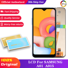 10 pcs Original A015 LCD For Samsung Galaxy A01 LCD Display Touch Screen Digitizer Assembly For Samsung A015 A015F A015G A015DS