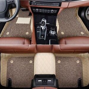 Image 5 - Car floor mats for  Mercedes Benz Viano A B C E G S R V W204 W205 E W211 W212 W213 S class CLA GLC ML GLA GLE GL GLK Car  carpet